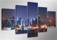 Canvas tavla 160x80 cm, 5-set, 5505