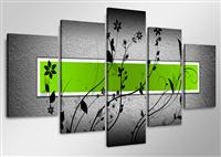 Canvas tavla 160x80 cm, 5-set, 5509