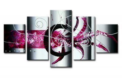 Canvas tavla 160x80 cm, 5-set, 5596