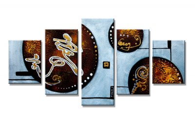 Canvas tavla 160x80 cm, 5-set, 5602