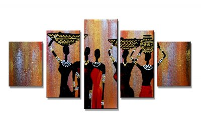 Canvas tavla 160x80 cm, 5-set, 5609