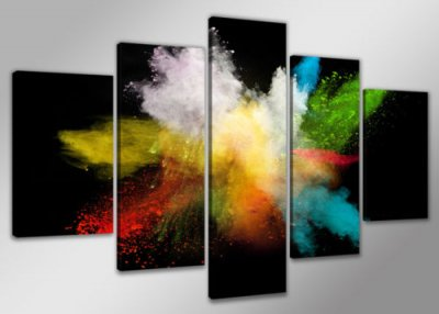 Canvas tavla 200x100 cm, 5-set, 6316