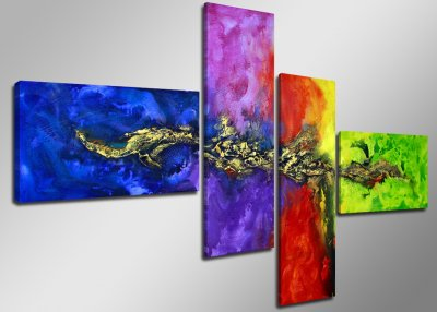 Canvas tavla 160x70, 4-set, 6508