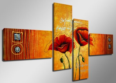 Canvas tavla 160x70, 4-set, 6520